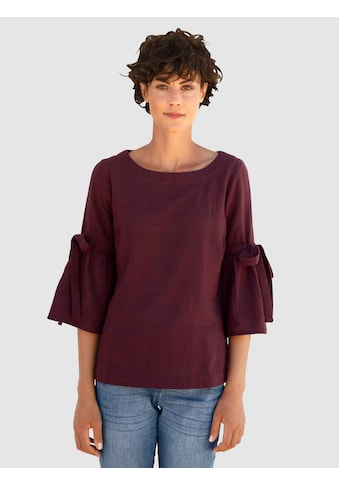 Dress In Bluse mit Bindedetail am Arm kaufen