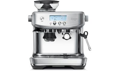 Sage Espressomaschine »»The Barista Pro, SES878BSS4EEU1««, Gebürstetes Edelstahl kaufen