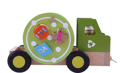 "EverEarth® Nachziehfahrzeug ""Nachzieh - Recycling Truck"" kaufen"