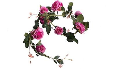 Botanic-Haus Kunstblume »Rosengirlande Dijon« kaufen