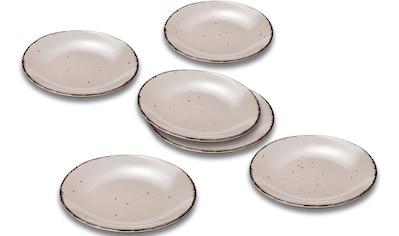ARTE VIVA Speiseteller »Puro«, (Set, 6 St.), aus Steinzeug, vom Sternekoch Thomas... kaufen