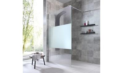 welltime Duschwand »Duschabtrennung«, Breite 120 cm, mit Dekor kaufen