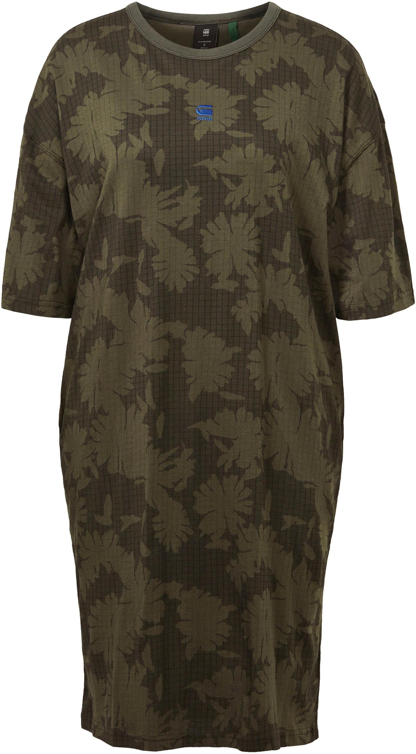 G-Star RAW Shirtkleid Yiva Allover Dress Damenmode/Bekleidung/Kleider/Shirtkleider