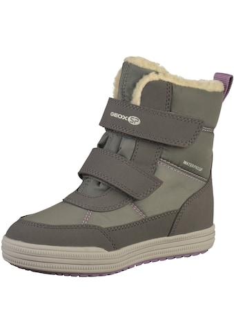 Geox Stiefel »Lederimitat/Textil« kaufen