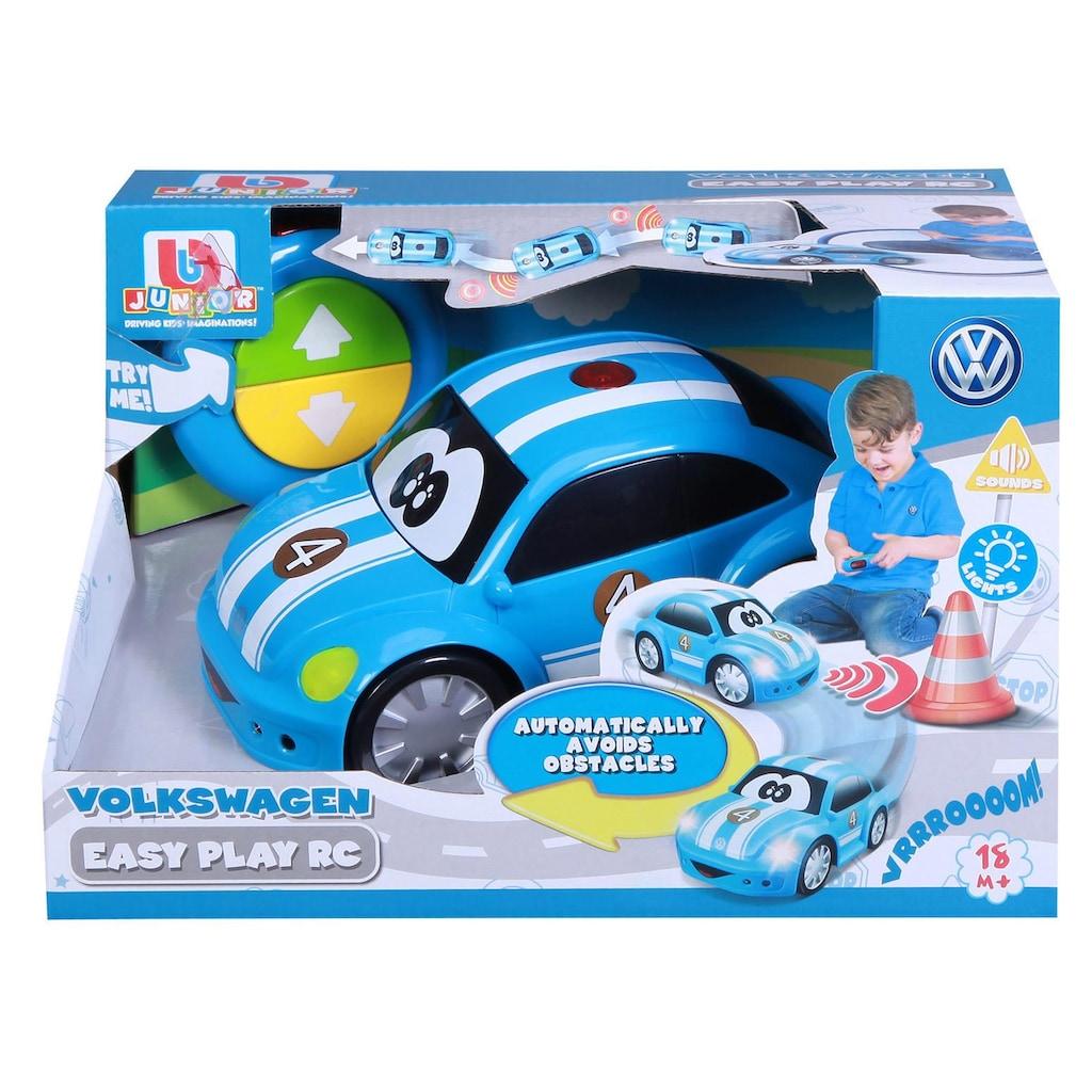 bbJunior RC-Auto »VW New Beetle Easy Play, blau«, mit Licht und Sound