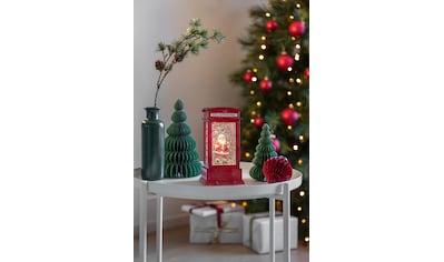 KONSTSMIDE Wasserlaterne klein, Telefonzelle mit sprechendem Weihnachtsmann kaufen