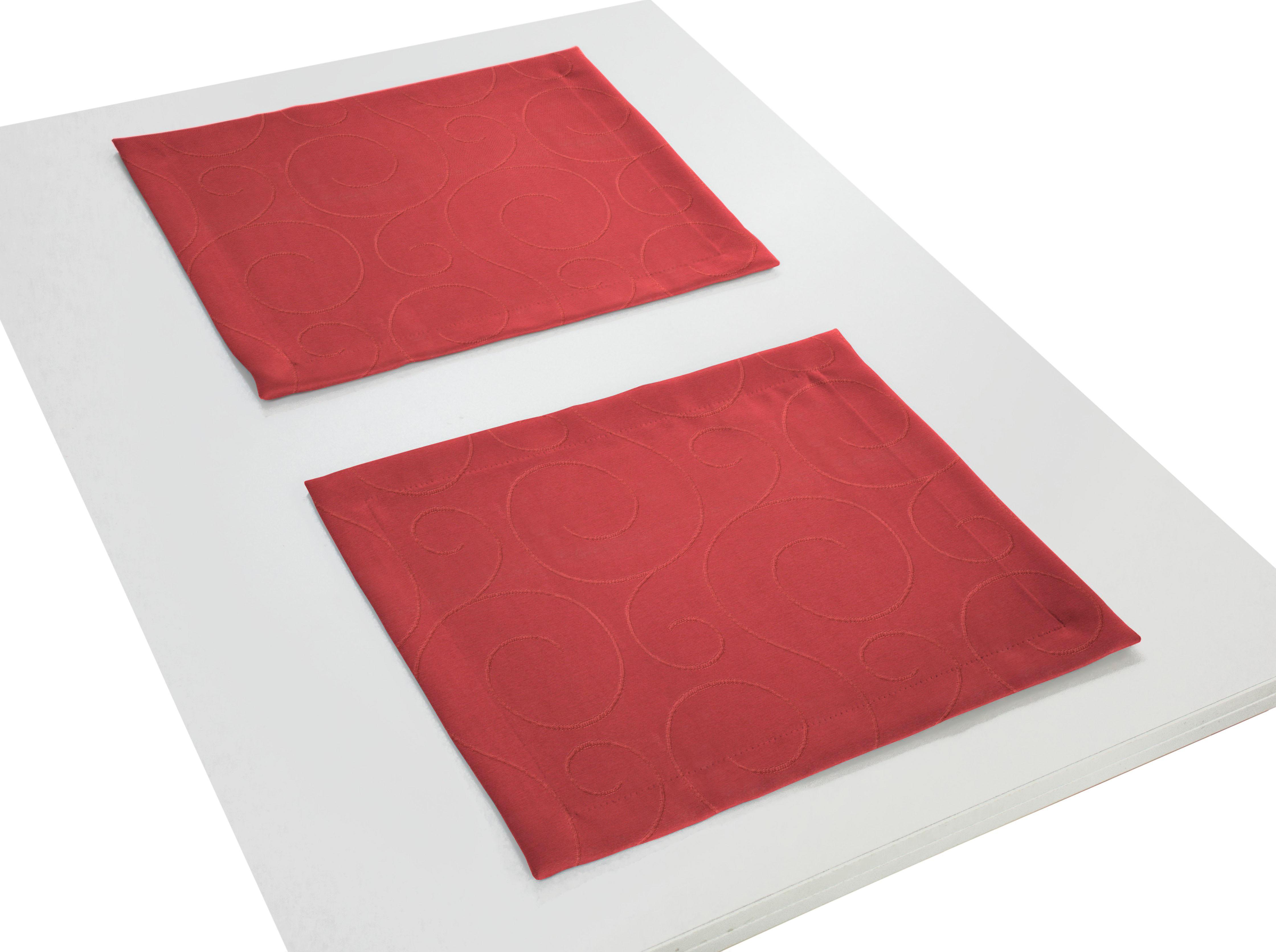 Platzset Neufahrn Wirth (Packung 2-tlg) | Heimtextilien > Tischdecken und Co > Platz-Sets | Rot | Wirth
