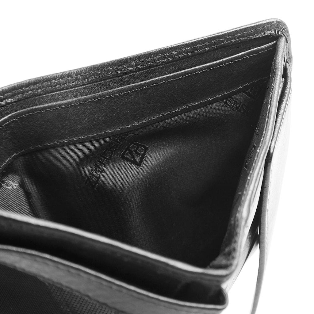 BODENSCHATZ Geldbörse »KINGS NAPPA«, Fotofach