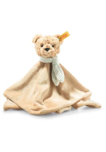 Steiff Schmusetuch »Soft Cuddly Friends Jimmy Teddybär«, mit Fingerpuppenfunktion kaufen