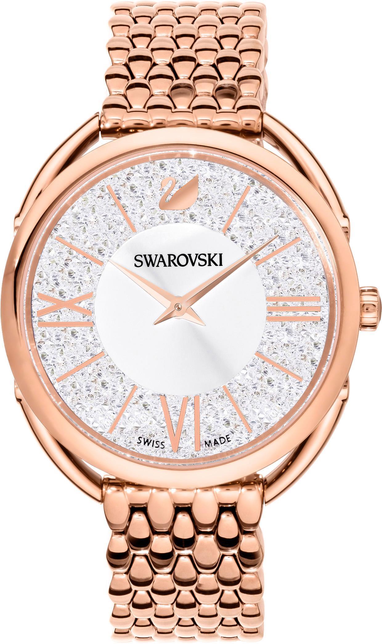 Swarovski Schweizer Uhr CRYSTALLINE GLAM 5452465 | Uhren > Schweizer Uhren | Goldfarben | Swarovski