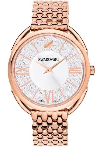Swarovski Schweizer Uhr »CRYSTALLINE GLAM, 5452465«, (1 tlg.) kaufen