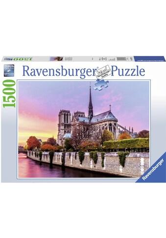 """Ravensburger Puzzle """"Malerisches Notre Dame"""" kaufen"""