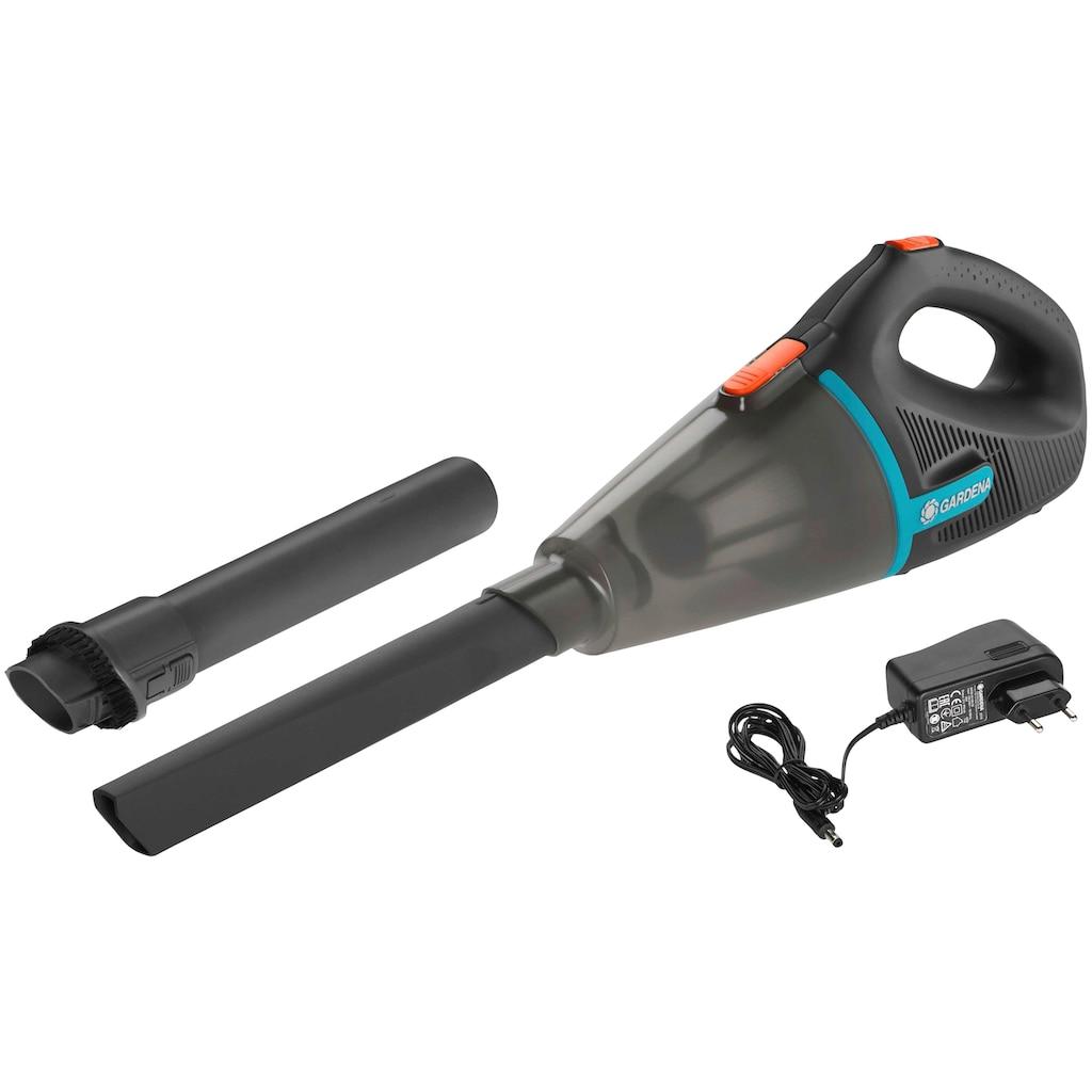 GARDENA Akku-Handstaubsauger »Outdoor EasyClean Li, 9339-20«, Behälter: 0,7 l, Durchflussmenge: 1.500 l/Min max.