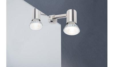 Paulmann Spiegelleuchte »Galeria LED Simplo Eisen gebürstet 5,3W GU10«, GU10, 1 St. kaufen