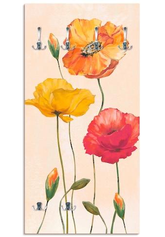 Artland Garderobe »Bunte Mohnblumen« kaufen