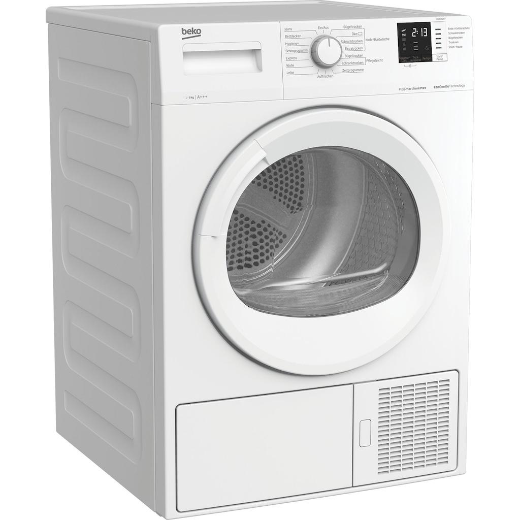 BEKO Wärmepumpentrockner »DS852GAV«