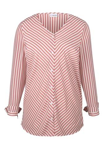 MIAMODA Bluse im Streifen Design kaufen