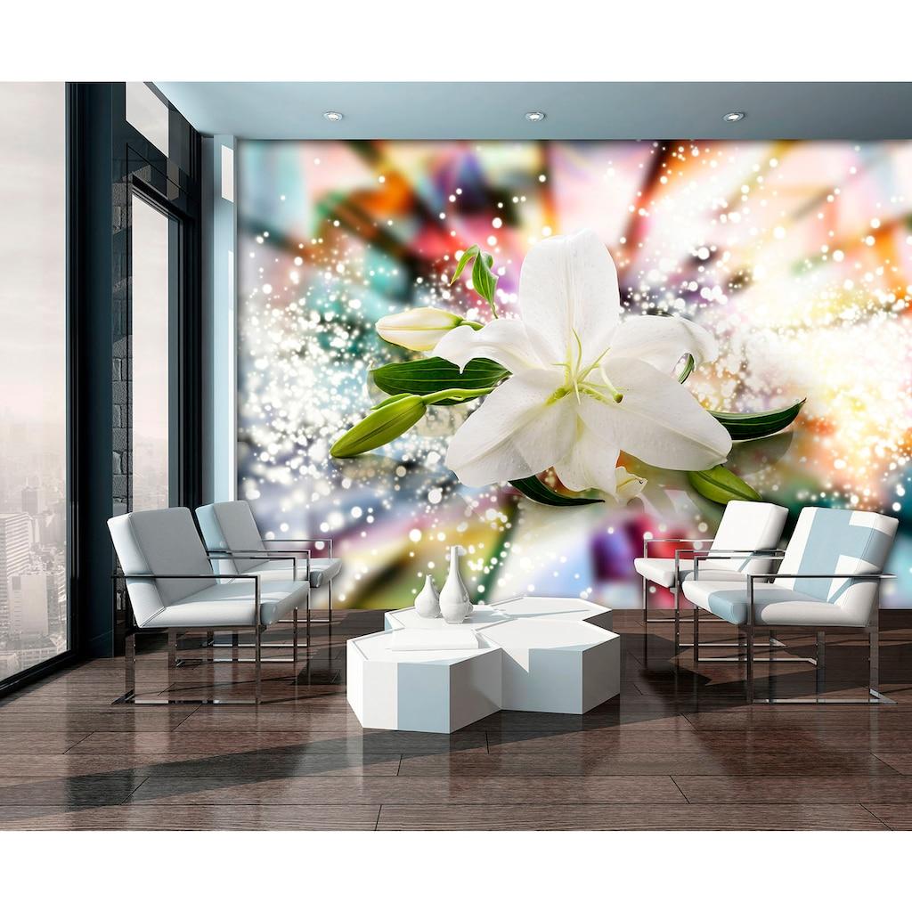 Consalnet Fototapete »Magic Lilie«, verschiedene Motivgrößen, für das Büro oder Wohnzimmer