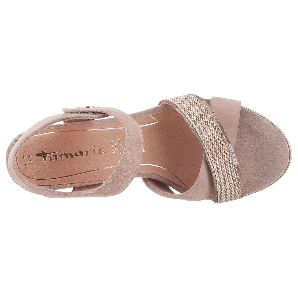 Tamaris Sandalette »Alis«, mit eleganter Kreuzbandage