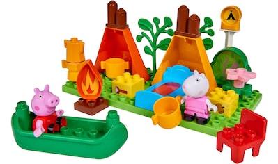 BIG Konstruktions-Spielset »BIG-Bloxx Peppa Pig Camping Set«, (25 St.) kaufen