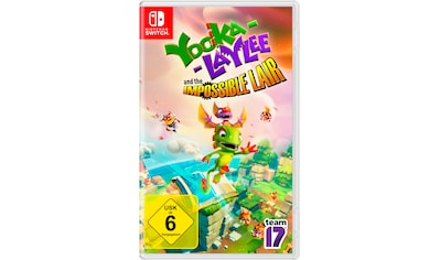 Spiel »Yoola-Laylee and the Impossible Lair«, Nintendo Switch kaufen