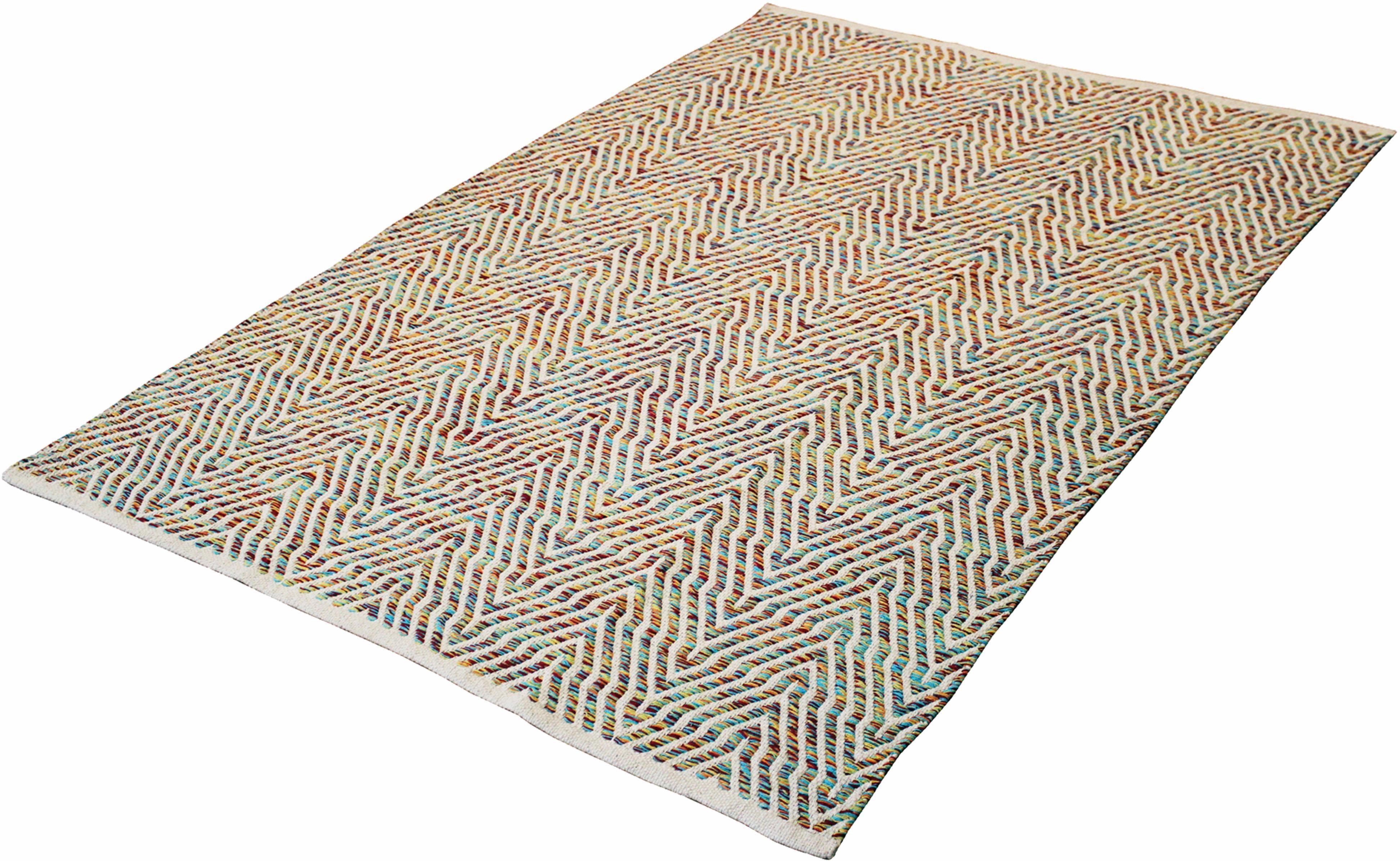 Teppich Aperitif 410 Kayoom rechteckig Höhe 7 mm handgewebt