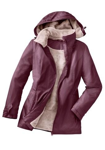 Classic Basics Funktionsjacke mit flauschig weichem, wärmendem Teddy - Fleece - Futter kaufen