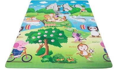 Kinderteppich, »Spielmatte«, Andiamo, rechteckig, Höhe 8 mm, maschinell zusammengesetzt kaufen