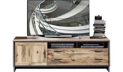 Innostyle TV-Board »Prato«, Breite 184 cm, 1 Holztür, 2 Schubkästen mit Doppelzarge, 2 offene Fächer kaufen