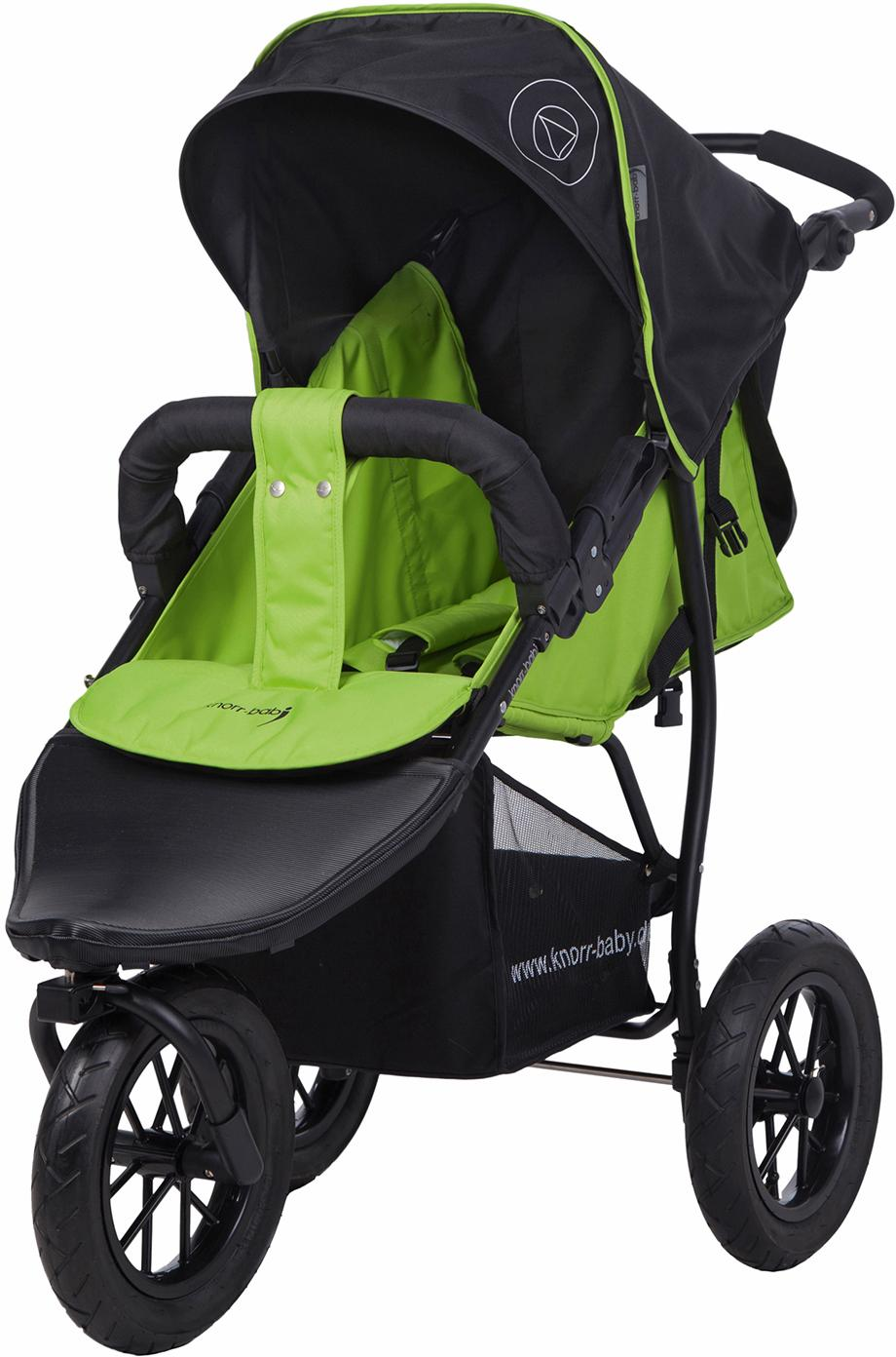 """Knorrbaby Jogger-Kinderwagen """"Joggy S Happy Colour grün"""" Kindermode/Ausstattung/Kinderwagen & Buggies/Kinderwagen/Jogger-Kinderwagen"""