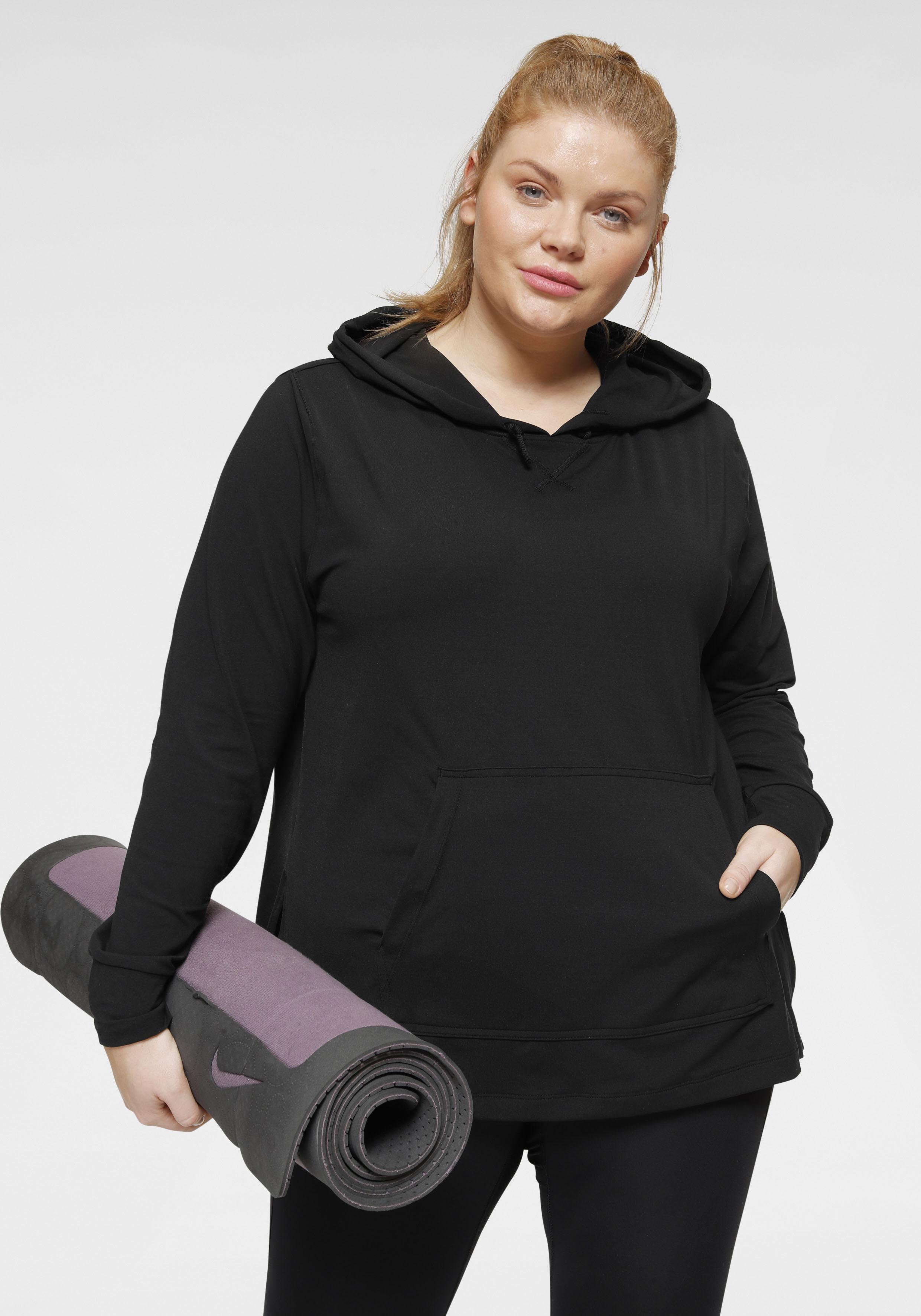 nike -  Yogashirt Women's Yoga Training Hoodie (Plus Size)
