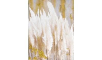 Bild mit goldfarbenen Effekte von Hand aufgetragen kaufen