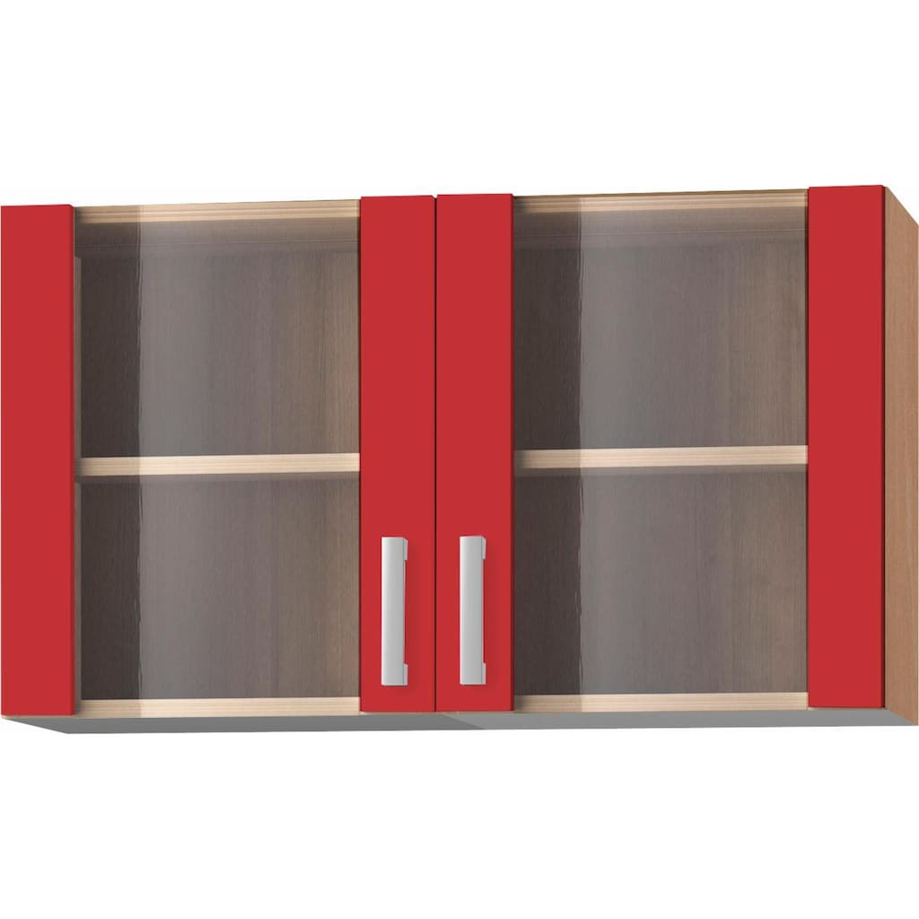 OPTIFIT Hängeschrank »Odense«, 100 cm breit, mit 2 Türen mit Glaseinsatz