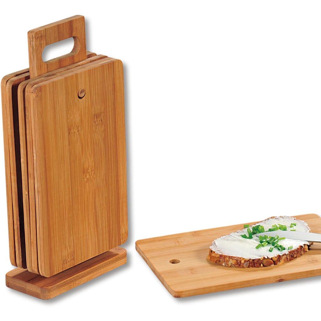 KESPER for kitchen & home Frühstücksbrett, inkl. Ständer