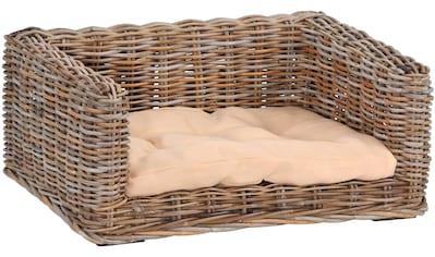 SILVIO design Tierkorb »Bonny Gr. 2«, BxLxH: 100x70x30 cm, natur kaufen