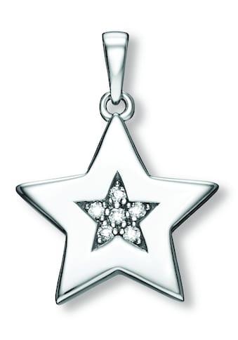 ONE ELEMENT Kettenanhänger »Anhänger Stern aus 925 Silber Zirkonia« kaufen