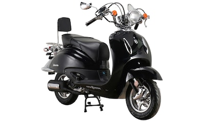 Alpha Motors Motorroller »Retro Firenze«, 125 cm³, 85 km/h, Euro 5, 8,56 PS, schwarz kaufen
