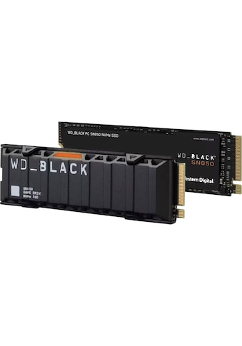 WD_Black interne SSD »SN850 NVMe™ mit Kühlkörper«, Works with PlayStation™ 5*, PCIe®... kaufen