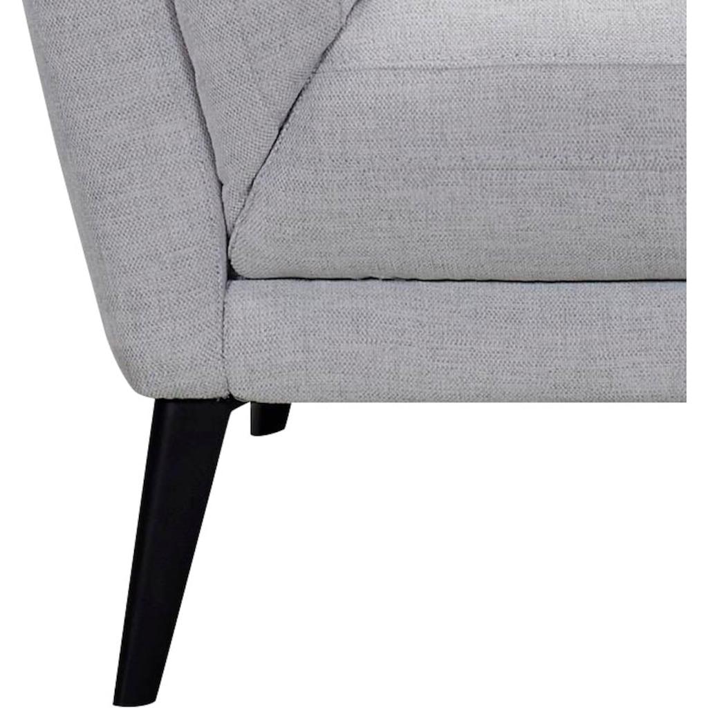 andas 2,5-Sitzer »Jonte«, Sitz- und Rücken gepolstert, in 2 Bezugsqualitäten