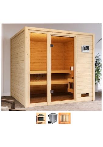 Karibu Sauna »Jackie«, 9-kW-Ofen mit ext. Steuerung kaufen