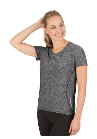 Trigema Sportshirt in Melange - Optik kaufen