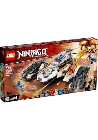 LEGO® Konstruktionsspielsteine »Ultraschall-Raider (71739), LEGO® NINJAGO®«, (725 St.) kaufen