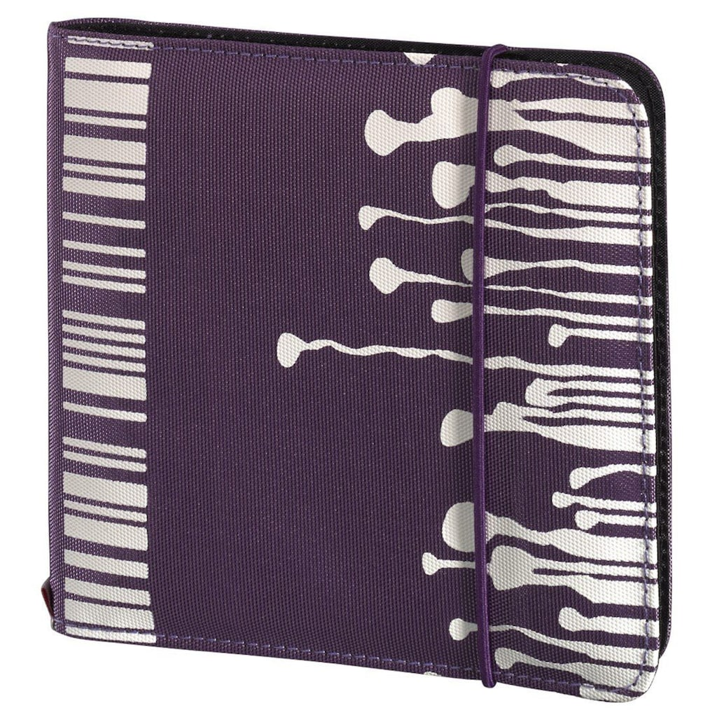 Hama CD-/DVD-/Blu-ray-Tasche Up to Fashion 24, Violett