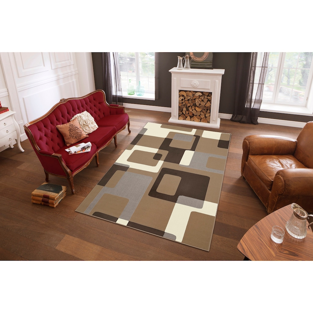 Teppich, »Retro«, HANSE Home, rechteckig, Höhe 9 mm, maschinell gewebt