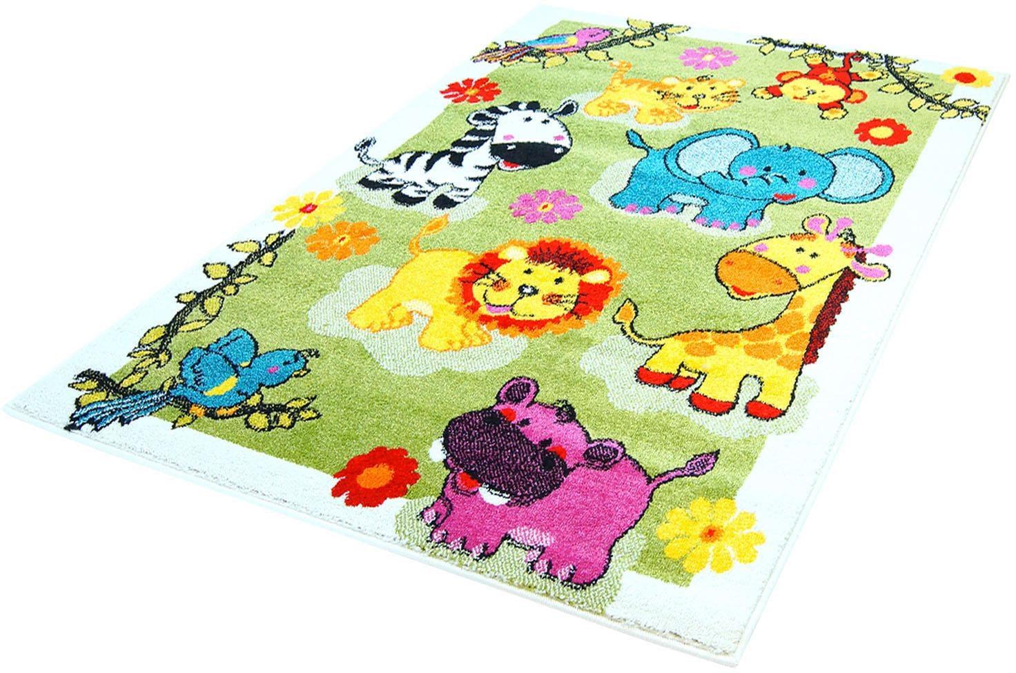 Kinderteppich Moda Kids 5508 Carpet City rechteckig Höhe 11 mm maschinell zusammengesetzt