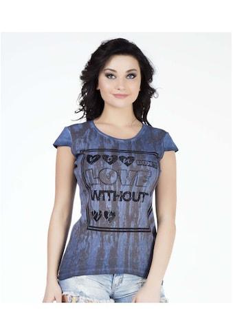 Cipo & Baxx T-Shirt, mit tollem Frontprint kaufen