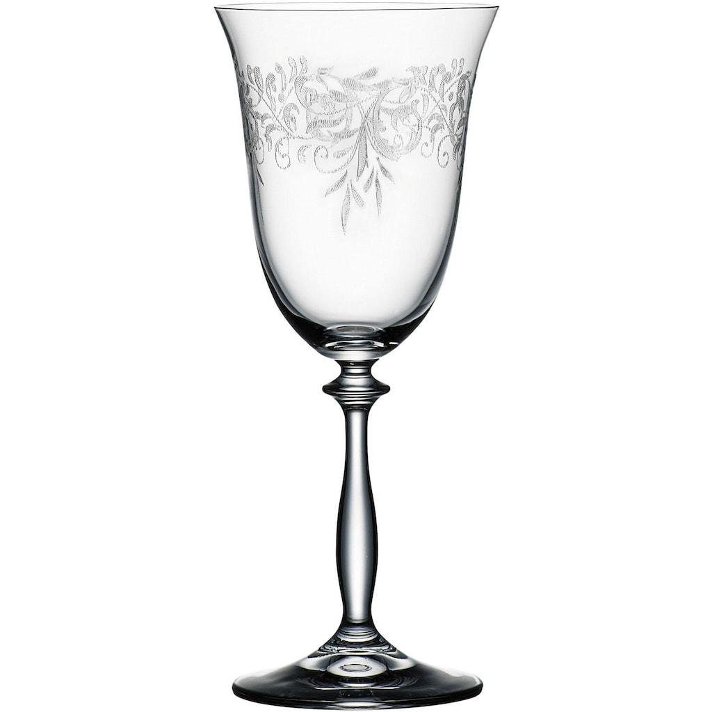 BOHEMIA SELECTION Weinglas »ROMANCE«, (Set, 6 tlg.)
