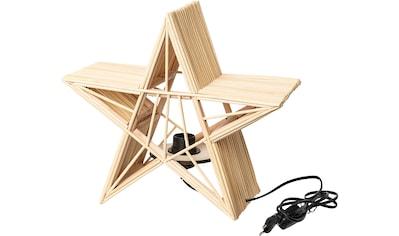 LED Dekolicht »Stern«, E27, Ø ca. 36 cm, mit Fassung E27 kaufen