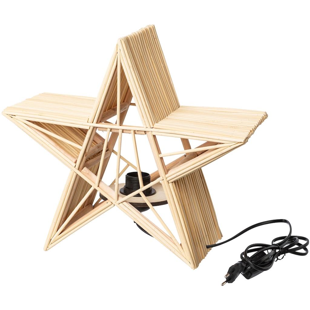 LED Dekolicht »Stern«, E27, Ø ca. 36 cm, mit Fassung E27