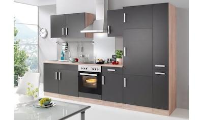 HELD MÖBEL Küchenzeile »Toronto«, mit E-Geräten, Breite 300 cm kaufen